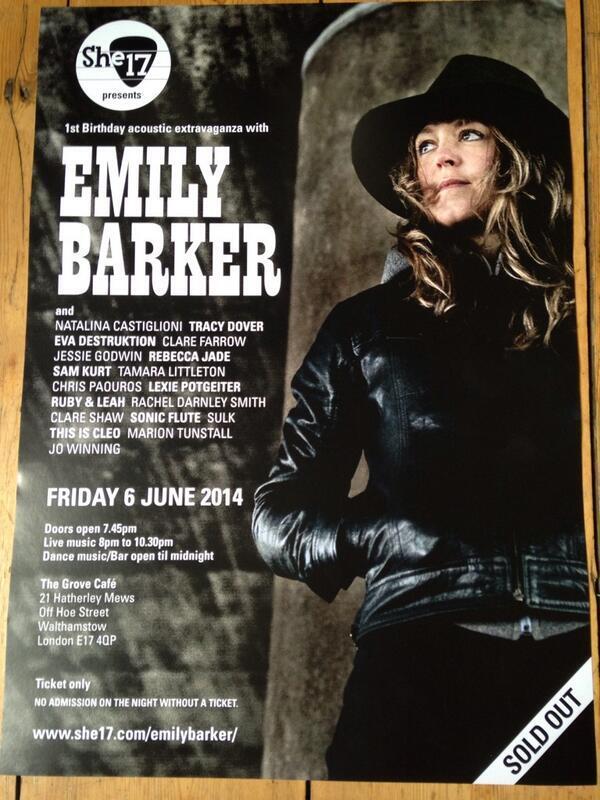Emily Barker She17 Poster