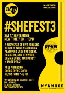 She17_shefest3 Flyer